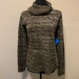 NWT COLUMBIA Women's Size L Ombré Turtleneck